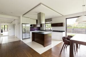 Garage conversions in Beaconsfield, High Wycombe, Amersham -open plan kitchens
