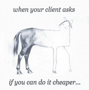 Can you do it cheaper