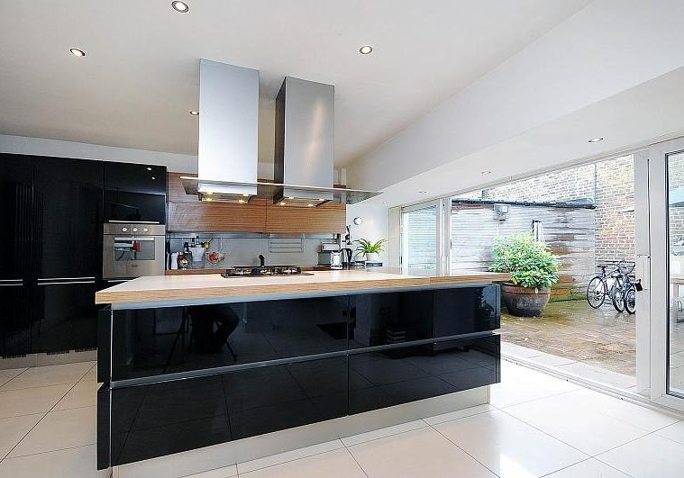 open plan kitchens